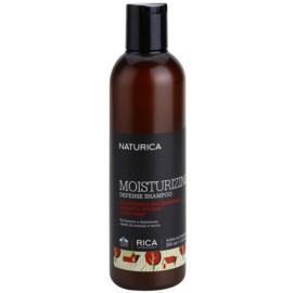 Rica Naturica Moisturizing Defense хидратиращ шампоан за защита на цвета за нормална към суха коса  250 мл.
