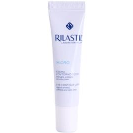 Rilastil Micro crema para contorno de ojos antiarrugas, antibolsas y antiojeras  15 ml