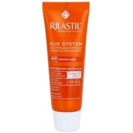 Rilastil Sun System ochranný krém na obličej SPF 50+  50 ml