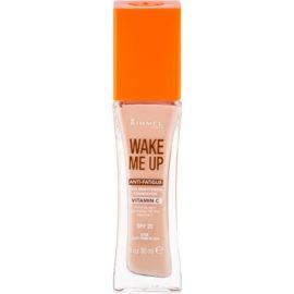 Rimmel Wake Me Up rozjasňujúci tekutý make-up SPF 20 odtieň 010 Light Porcelain 30 ml