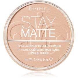 Rimmel Stay Matte puder odtenek 003 Peach Glow  14 g