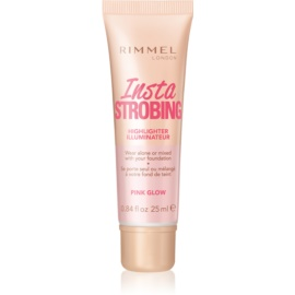 Rimmel Insta Strobing iluminator lichid culoare Pink Glow 25 ml