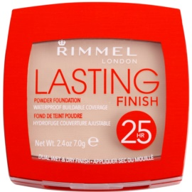 Rimmel Lasting Finish 25H ultra leichter Puder Farbton 001 Light Porcelain 7 g
