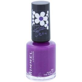 Rimmel 60 Seconds By Rita Ora lak na nehty odstín 562 Pump Up The Purple 8 ml