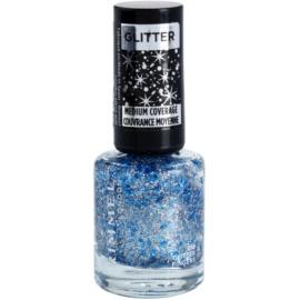 Rimmel Glitter Medium Coverage lak na nehty se třpytkami odstín 012 Glitter Fingers 8 ml