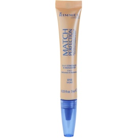 Rimmel Match Perfection Verhelderende Concealer Tint  010 Ivory 7 ml