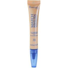 Rimmel Match Perfection rozjasňující korektor odstín 010 Ivory 7 ml