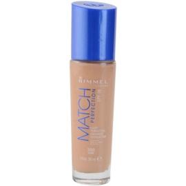 Rimmel Match Perfection tekutý make-up SPF 18 odstín 300 Sand 30 ml