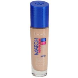 Rimmel Match Perfection tekutý make-up SPF 20 odstín 010 Ligh Porcelain 30 ml