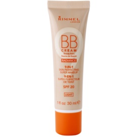 Rimmel Radiance BB creme 9 em 1 SPF 20  tom Light 30 ml