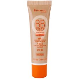 Rimmel Radiance BB krém 9 az 1-ben SPF 20 árnyalat Medium 30 ml