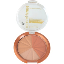 Rimmel Sun Shimmer 3 in 1 Shimmering Bonzer třpytivý bronzující pudr odstín 001 Gold Princess  9,9 g