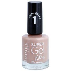 Rimmel Super Gel By Kate żelowy lakier do paznokci bez konieczności użycia lampy UV/LED odcień 012 Soul Session 12 ml