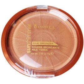 Rimmel Sun Shimmer Maxi Bronzer polvos bronceadores tono 004 Sun Star 17 g