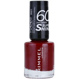 Rimmel 60 Seconds Super Shine lak na nehty odstín 321 It's The Cherry On Top 8 ml
