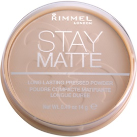 Rimmel Stay Matte puder odcień 003 Peach Glow  14 g