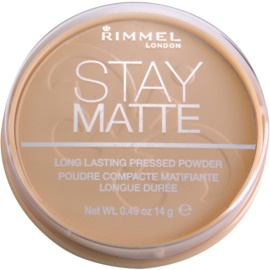 Rimmel Stay Matte puder odcień 004 Sandstorm  14 g