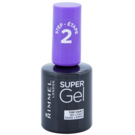 Rimmel Super Gel Step 2 esmalte de uñas capa superior con brillo  12 ml