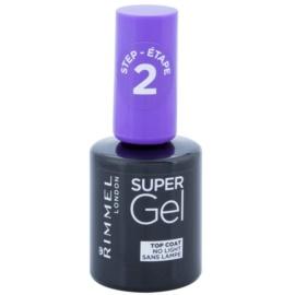 Rimmel Super Gel Step 2 verniz de cobertura protetor para dar brilho  12 ml