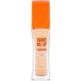 Rimmel Wake Me Up rozjasňujúci tekutý make-up SPF 20 odtieň 200 Soft Beige  30 ml