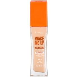 Rimmel Wake Me Up rozjasňujúci tekutý make-up SPF 20 odtieň 103 True Ivory  30 ml