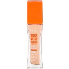 Rimmel Wake Me Up rozjasňujúci tekutý make-up SPF 15 odtieň 201 Classic Beige 30 ml