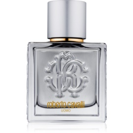 Roberto Cavalli Uomo Silver Essence Eau de Toilette for Men 60 ml