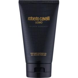 Roberto Cavalli Uomo Silver Essence żel pod prysznic dla mężczyzn 150 ml