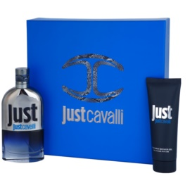 Roberto Cavalli Just Cavalli for Men Geschenkset I. Eau de Toilette 90 ml + Duschgel 75 ml