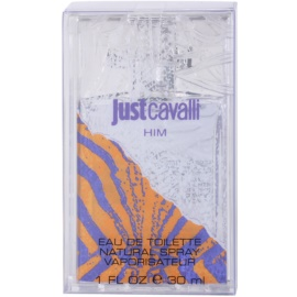 Roberto Cavalli Just Cavalli Him Eau de Toilette für Herren 30 ml