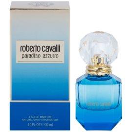 Roberto Cavalli Paradiso Azzurro eau de parfum para mujer 30 ml