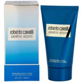Roberto Cavalli Paradiso Azzurro leite corporal para mulheres 150 ml