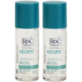 RoC Keops Roll-On Deodorant  48h  2x30 ml