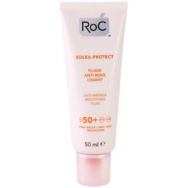 RoC Soleil Protect schützendes Fluid gegen Falten SPF 50+  50 ml