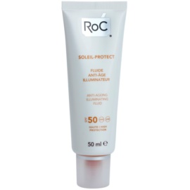 RoC Soleil Protexion+ Beschermende Stralende Fluid tegen Huidveroudering  SPF 50  50 ml