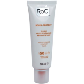 RoC Soleil Protexion+ Protective Fluid for Very Sensitive Skin SPF 50  50 ml