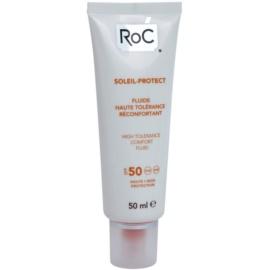 RoC Soleil Protect ochranný fluid pro velmi citlivou pleť SPF 50  50 ml