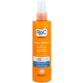 RoC Soleil Protect nawilżające mleczko ochronne w sprayu SPF 30  200 ml