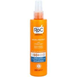 RoC Soleil Protect védő és hidratáló tej spray formában SPF 50+  200 ml