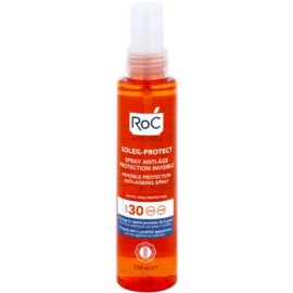 RoC Soleil Protect spray protector transparente antienvejecimiento SPF 30  150 ml