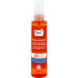 RoC Soleil Protexion+ Transparante Beschermingsspray tegen Huidveroudering  SPF 30  150 ml