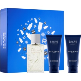 Rochas Eau de Rochas Homme Gift Set IV.  Eau De Toilette 100 ml + Aftershave Balm 100 ml + Shower Gel 100 ml