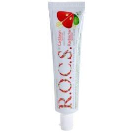 R.O.C.S. Caribbean Summer Zahncreme für gesunde und schöne Zähne Geschmack Grapefruit/Mint 60 ml