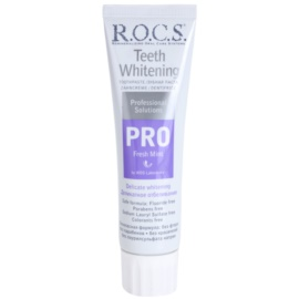 R.O.C.S. PRO Fresh Mint pasta de dientes suave con efecto blanqueador  100 ml