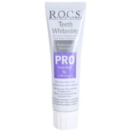 R.O.C.S. PRO Fresh Mint schonende bleichende Zahncreme  100 ml