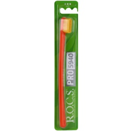 R.O.C.S. PRO 5940 zubní kartáček soft Orange & Yellow