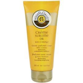 Roger & Gallet Bois d´Orange Sublime testápoló krém (Perfumed Body Cream - Moisturising, Beautifying, Invigorating) 200 ml