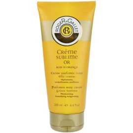 Roger & Gallet Bois d´Orange Sublime tělový krém (Perfumed Body Cream - Moisturising, Beautifying, Invigorating) 200 ml