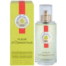 Roger & Gallet Fleur d'Osmanthus eau rafraîchissante pour femme 50 ml