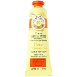 Roger & Gallet Fleur d´ Osmanthus eine Crem zum Schutz von Händen und Nägeln mit Sheabutter und Aprikosenöl  30 ml